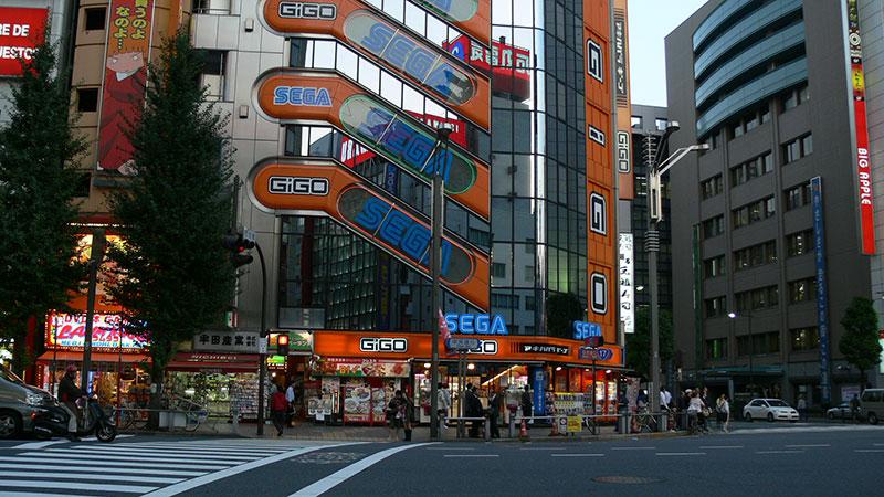 Bairro Akihabara, em Tóquio, centro do comércio eletrônico local (2007)