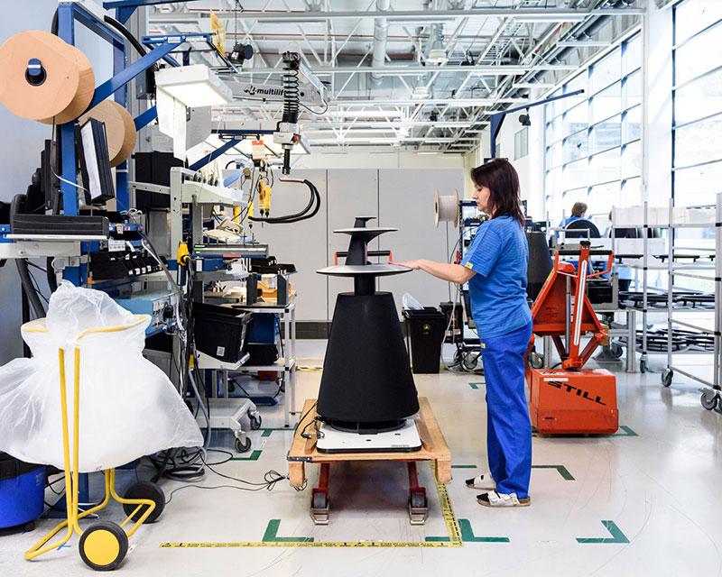 Visita à fábrica da Bang & Olufsen, na Dinamarca (2013)