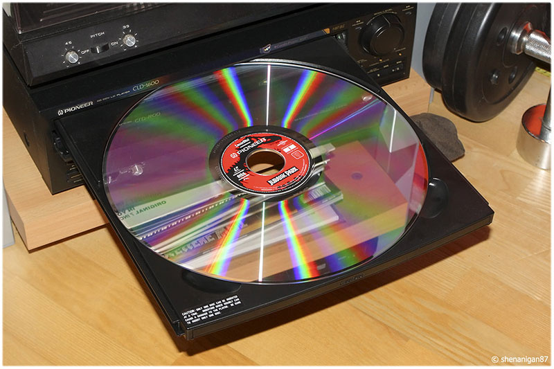 Player Laserdisc, da Pioneer, sucesso antes do DVD (1996)