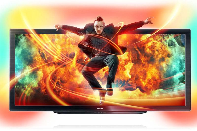 Primeiro TV com tela ultrawide (21:9), lançado em 2006