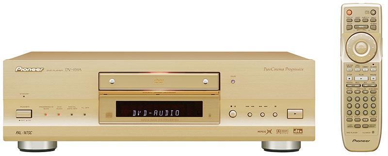 Player DVD-Audio, na época a máxima sofisticação em som (2001)
