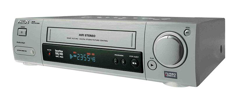 Videocassete top de linha, um dos últimos que saíram (1998)